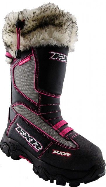 FXR Racing Excursion Womens Snowboard Skiing Sled Snowmobile Boots