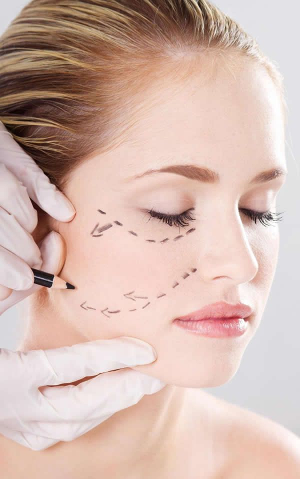 Types of facial Cosmetic Surgery
