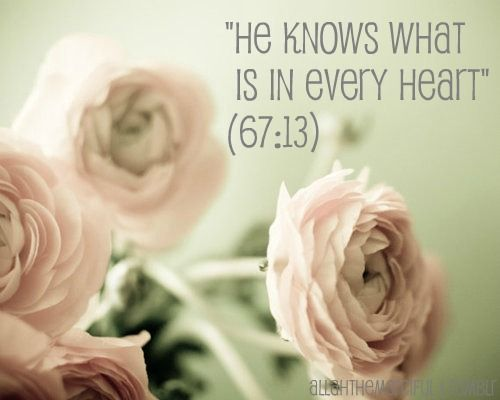 When you think about it, Allah (swt) is the only one who truly knows you.