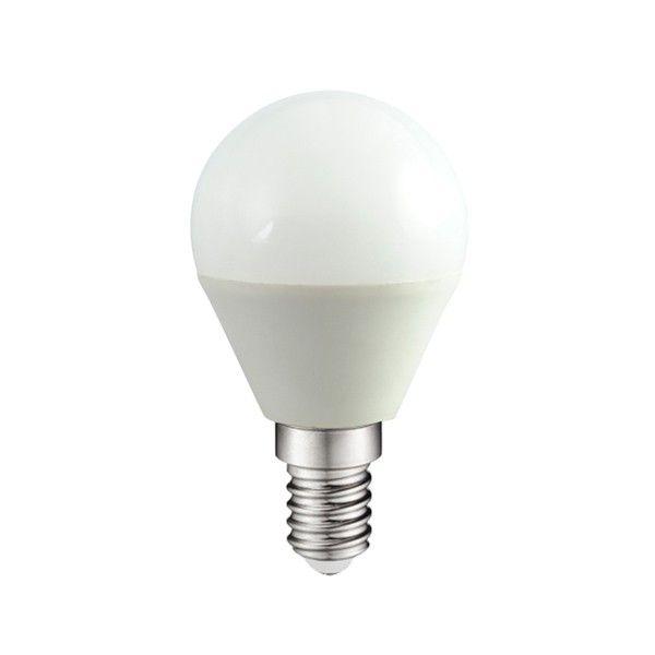Bombilla Led Esférica E-14. 4W. 300Lm. Wonderlamp. Iluminación LED.
