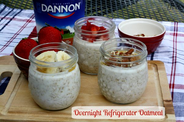 Mommy's Kitchen - Country Cooking & Family Friendly Recipes: Overnight Refrigerator Oatmeal - Yogurt Breakfast Ideas #wmtmoms