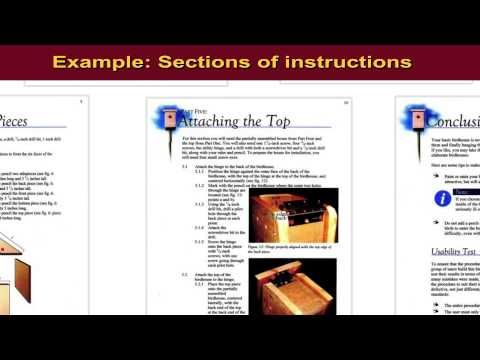 Instruction Documents: What is an Instructional Document? - YouTube