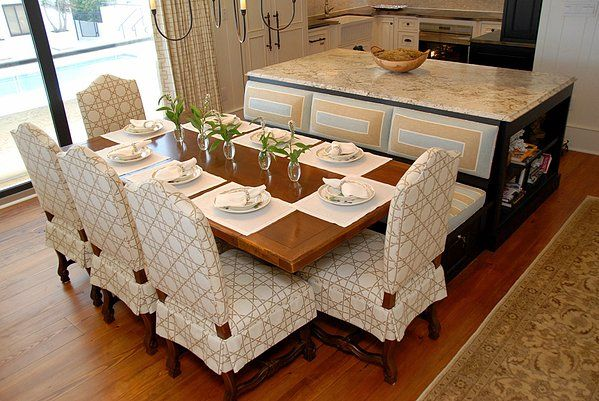 kitchen island bench seating dream home pinterest