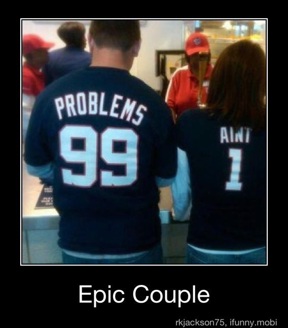 .: Couple Shirts, 99 Problems, Laughing, Halloween Costumes, Girls Problems, Funny Stuff, So Funny, 99Problems, Epic Couple