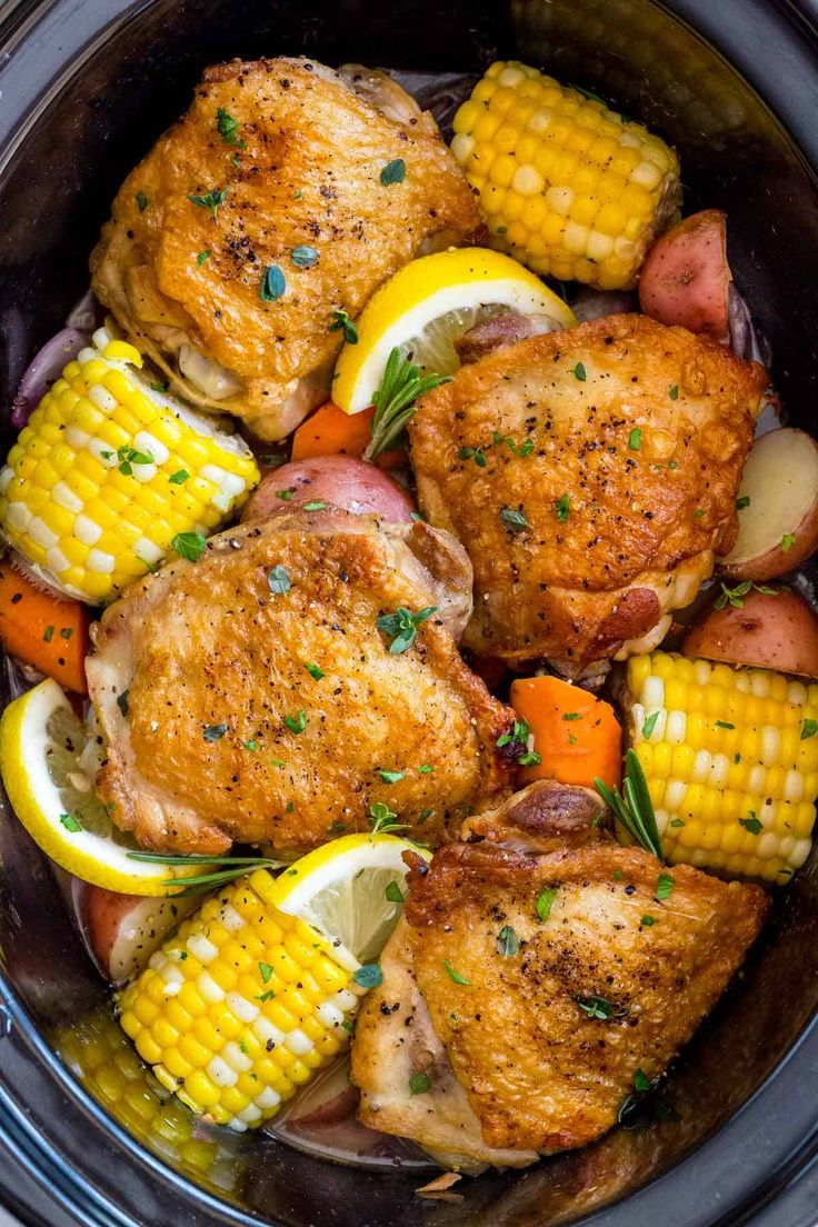 Slow Cooker Chicken Thighs Recipe Slow Cooker Chicken