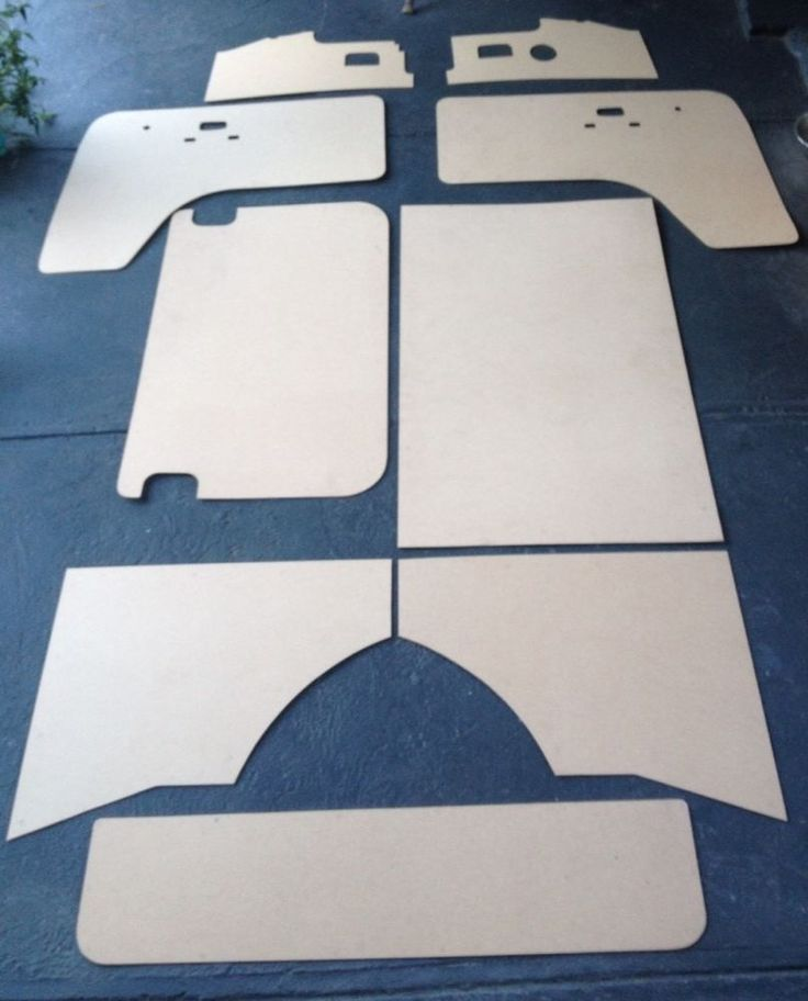 Vw Kombi Interior Panels Set Volkswagen 68 - 79