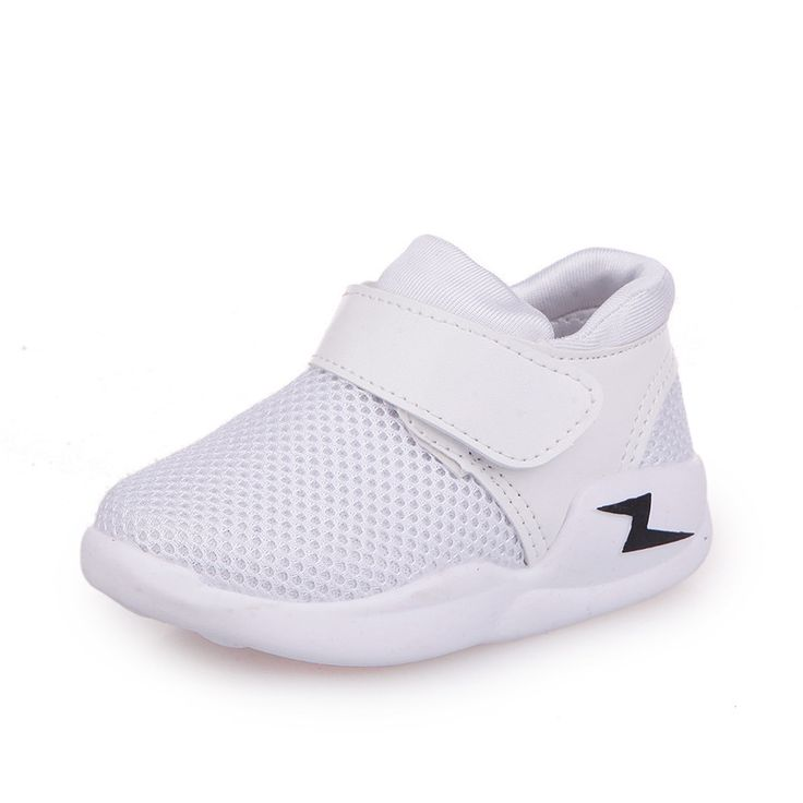 Children's Mesh Shoes Boys Girls Breathable Casual Shoes 2017 Fashion New Kids Hollow Running Shoes Boys Sneakers White Black #Affiliate