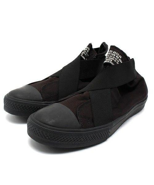 Ленточные кроссовки CABANE де Zucca (Kabandozukka) (кроссовки)   Черный
