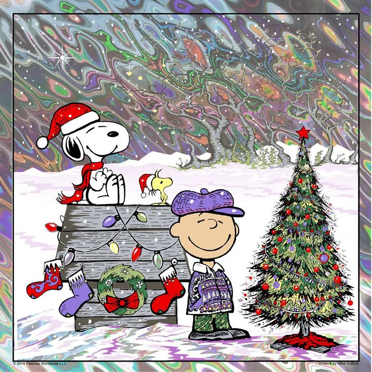 """""""MERRY CHRISTMAS, CHARLIE BROWN"""" LAVA-Variant edition of 45"""