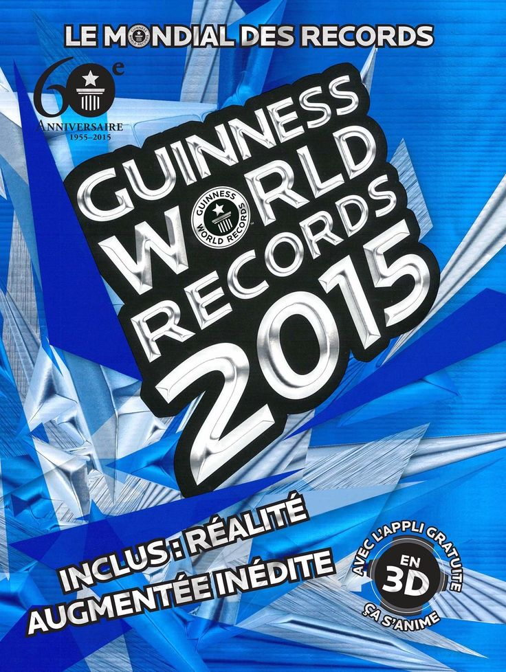 Amazon.fr - Guinness World Records 2015: Le mondial des records - Guinness World Records - Livres