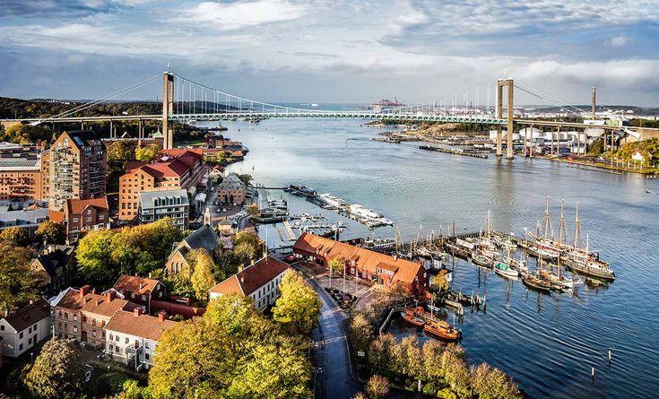 GOTEMBURGO #cosmopolita. Presume de tener el único barco vikingo de toda #Suecia en la actualidad y la caída libre más alta de toda Europa en su parque de atracciones de Liseberg.