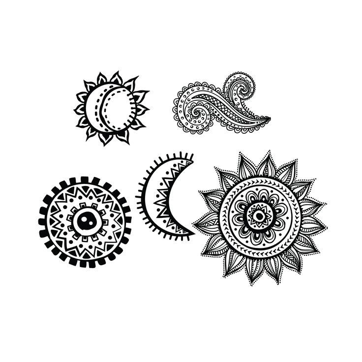 Sun And Moon Together Design   www.pixshark.com - Images ...