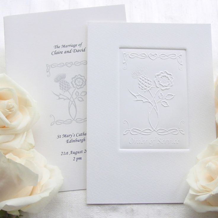 watch wedding invitation movie online eng sub%0A Thistle and Rose Wedding Invitation joining the national flowers of  Scotland and England  Each card is individually embossed into an acidfree