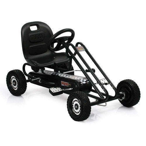 Hauck T90109 Lightening Go-Kart – Coche de con pedales de juguete, color negro | Your #1 Source for Toys and Games