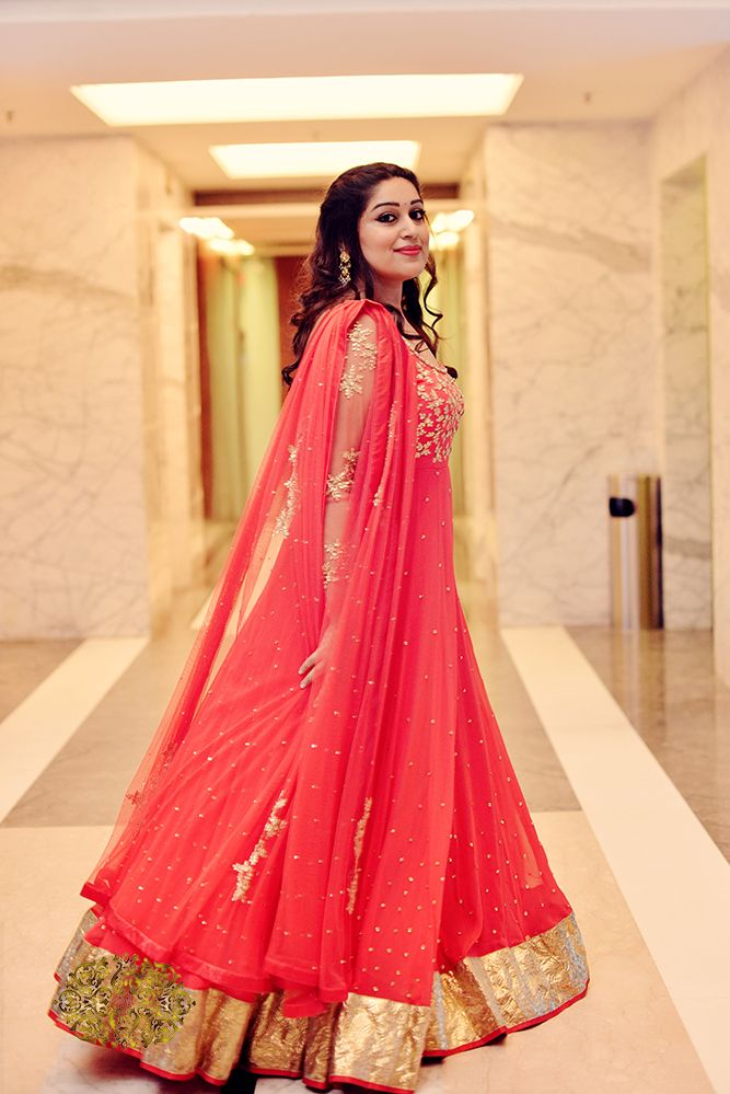 Indian Wedding 2015. bridal fashionReal Wedding, real bride, Indian fashion, roka dress, Anarkali, Gurgaon Wedding