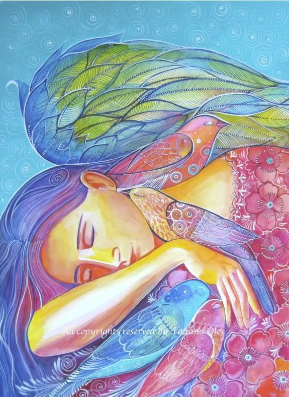 Sleeping Angel by Tatiana Oles