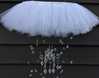 crystal baby mobile princess baby mobile by JennabooBoutique