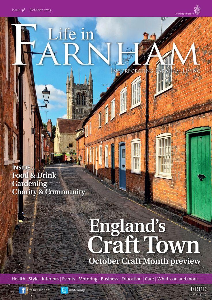 England's Craft Town ~ Lower Street, Farnham by Marc Sayce #locallife #Farnham #Surrey #community #lifestyle #magazine