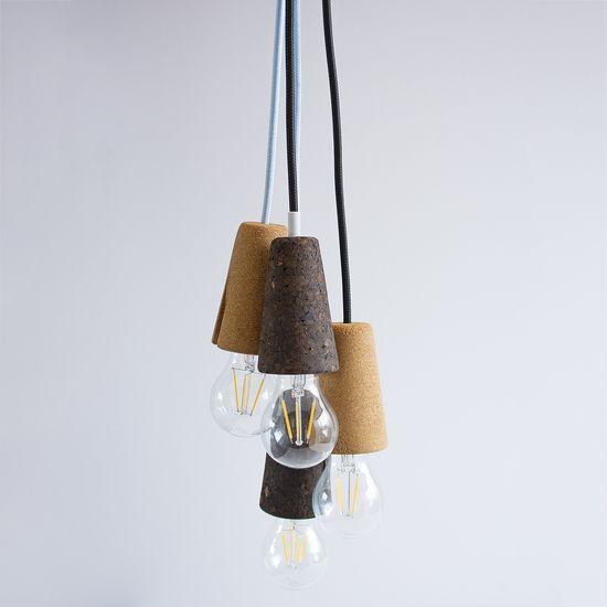 Sininho Cork Pendant Lamp. Discover @Treniq