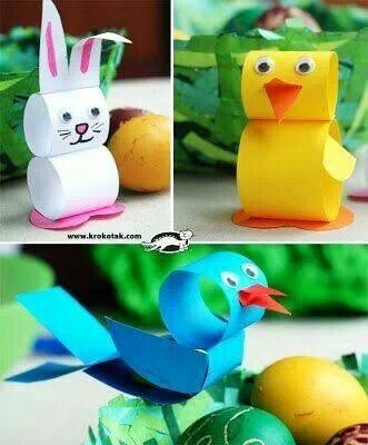 21 Toddler Authorized Easter Crafts