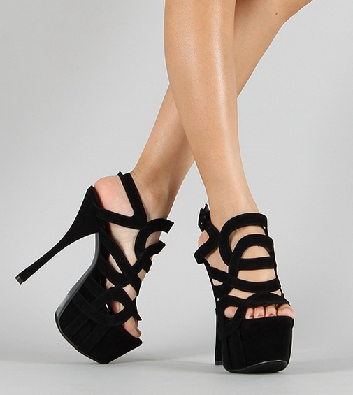 Fahrenheit Women's Jean-03 Platform Pump .  Price: $56.99 .  Click to Purchase: http://amzn.to/SiWLAF