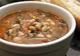 Ham Bone Soup with White Beans and Tomatoes