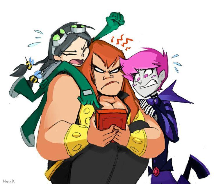 Genderbend - Teen Titans