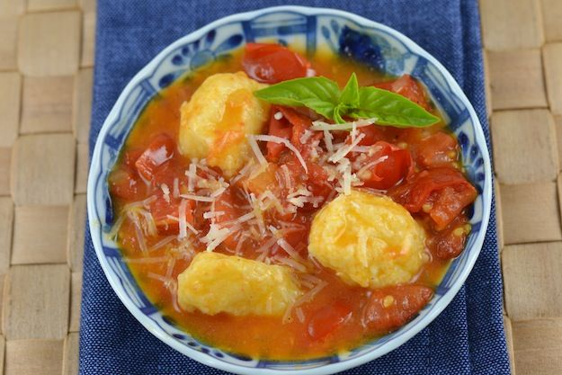 sauce ricotta gnudi with pomodoro sauce valerie s keepers ricotta ...