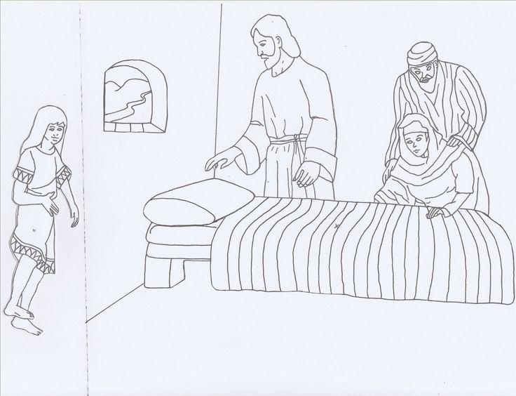27 best NT Jezus en Jairus\' dochter Jesus and Jairus\' daughter ...