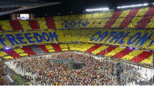 Multitudinario concierto por la independencia de Cataluña - BBC Mundo