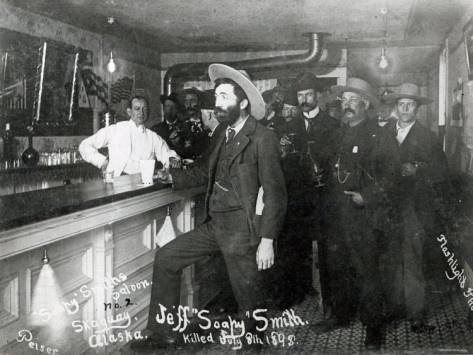 Soapy Smith's Saloon Bar at Skagway, Alaska, 1898 Photographic Print