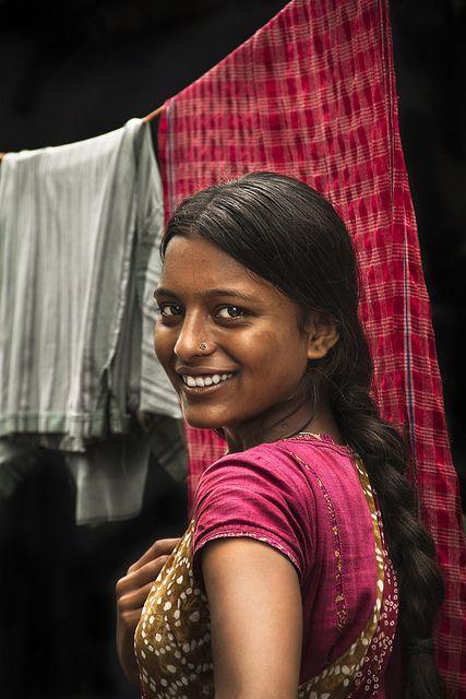 hymns-for-the-hopeless:    What a smile, such beauty.  vidyaksha-education:    @ Ajay Nagar Slum - Kolkatta by Arun Titan on Flickr.