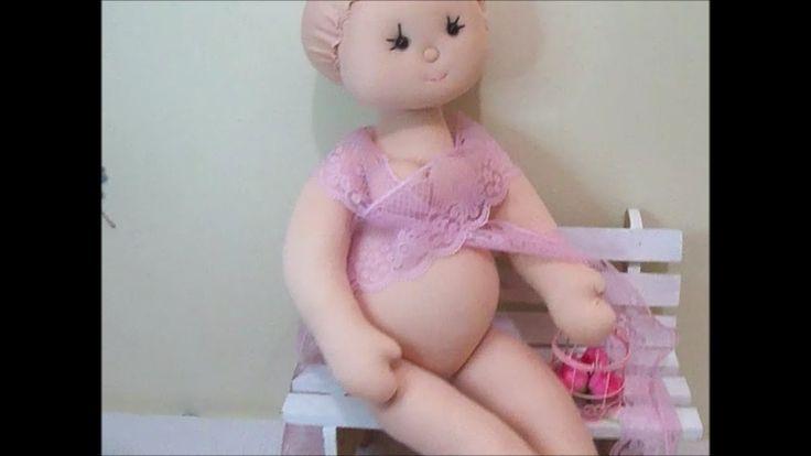 Boneca mamãe/Boneca grávida (corpo) enfeite maternidade
