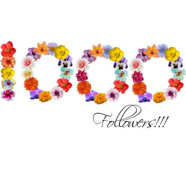 I have 1000 followers!! Thank you, fellow pinners!