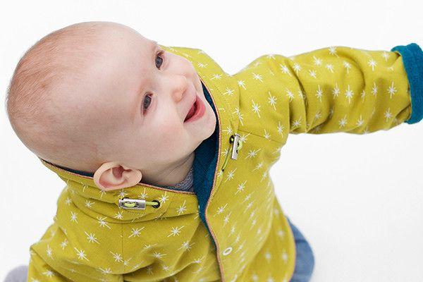 Patroon baby / peuter jas vest mt 48 tm 86