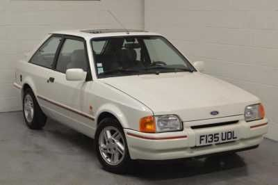 1989 FORD ESCORT MK4 1.6 XR3i Hatchback, 88 Spec, Diamond White, LEFT HA... - scutt.eu