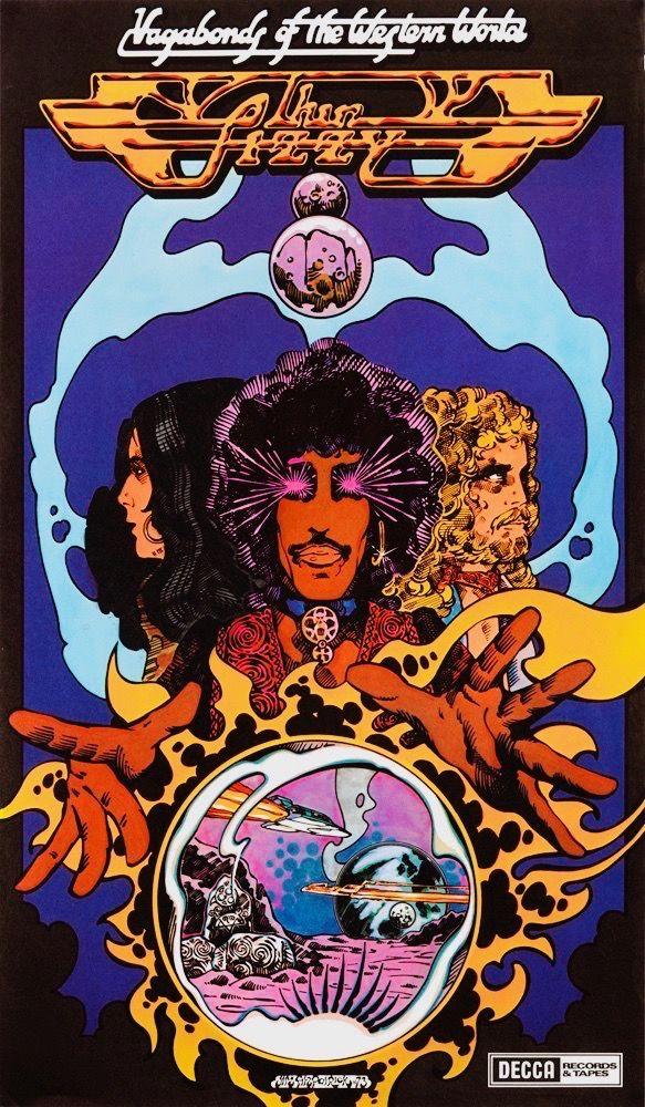 "Johnny The Fox Poster Print 8/""x11/"" By Jim Fitzpatrick Album art. Thin Lizzy"