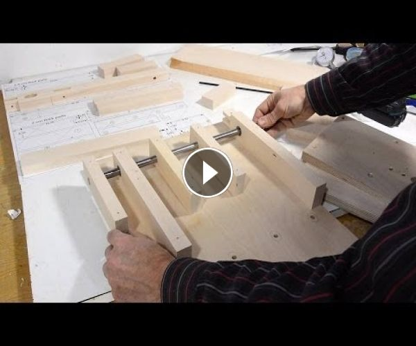 Tenon jig build, part 1 | Sierra de mesa