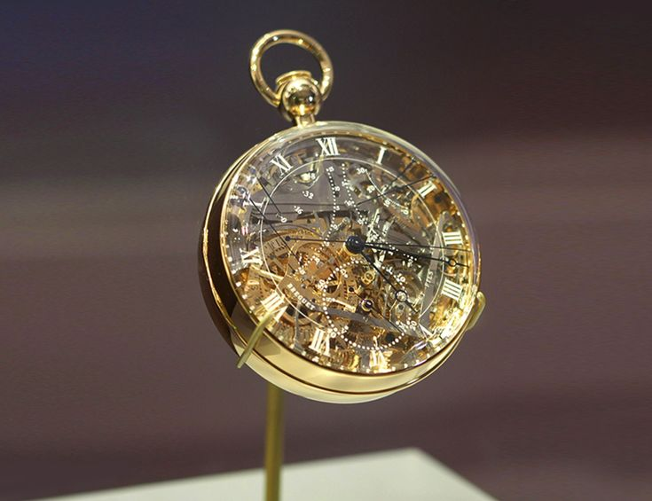 The most expensive watch in the world 2014: BREGUET GRANDE COMPLICATION MARIE-ANTOINETTE ~ Price: $30.000.000. It was commissioned by a an alleged lover of Marie Antoinette, the French queen. Work on the watch began in 1782 by Abraham-Louis Breguet and was finished in 1827 by his son, 4 years after his death.Marie Antoinette did not get to see the watch, since it was completed 34 years after her execution, but we can be sure she would've been impressed.