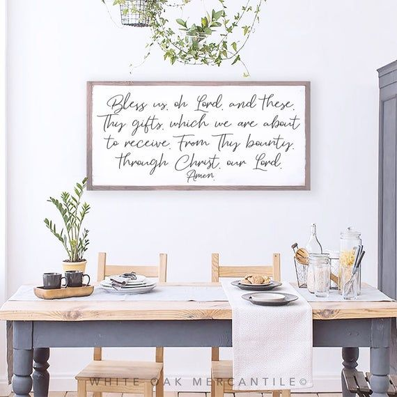 Pin On Home Decor, Dining Room Signs