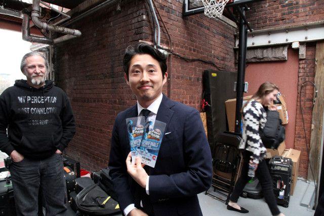 Steven yeun dating