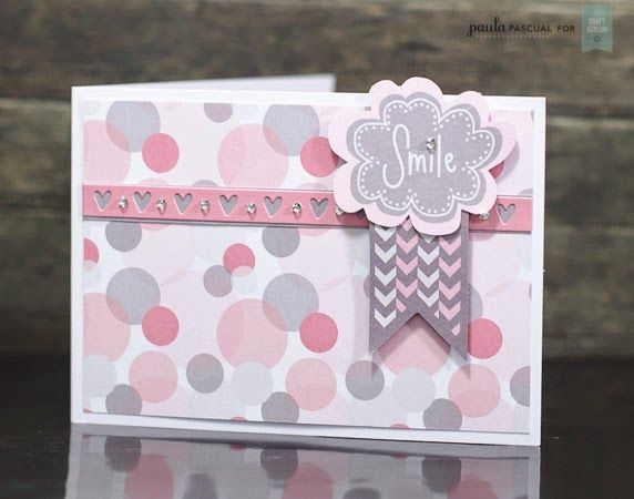 Smile! what a beautiful card, we love the soft colours.