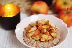 Recept: Makkelijke Appel Kaneel Havermout! | fitbeauty.nl | Bloglovin'