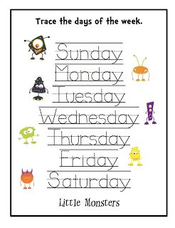 Preschool Printables: Monster Halloween Cards