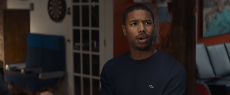 Lacoste jumper worn by Michael B. Jordan in THAT AWKWARD MOMENT (2014) @lacoste