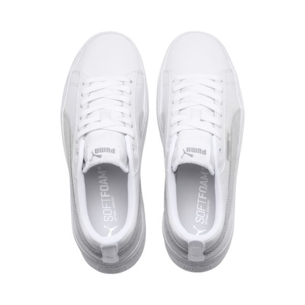 puma soft foam white sneakers \u003e Factory