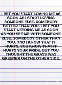 Ciara I bet song lyric love quote relationship