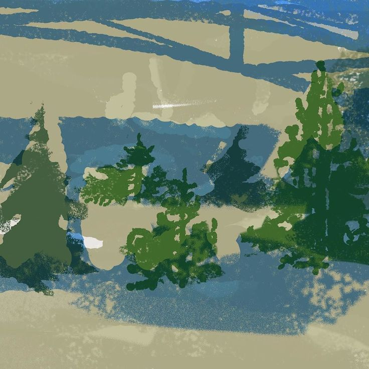 Doing trees again. #illustration #painting #tatsurokiuchi #art #drawing #life #lifestyle #happy #japan #people #木内達朗 #イラスト #イラストレーション