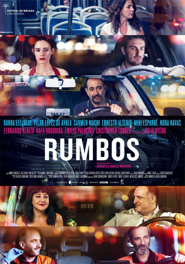 """""""RUMBOS""""  Manuela Burló Moreno"""