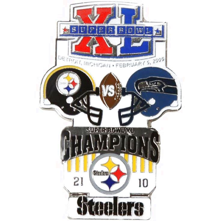 Pittsburgh Steelers Super Bowl XL Collectors Pin - $11.99